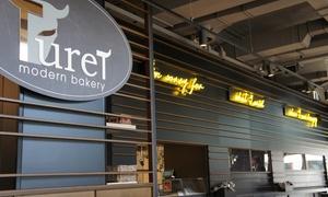 Turet: Menu con hamburger, pizza o pasta a scelta più dolce e birra al ristorante Turet in Piazza Solferino (sconto fino a 49%)