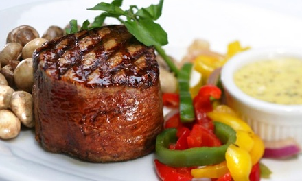 Steakhouse Meal at Shula's 2 Steak & Sports (Up to 50% Off). Two Options Available.