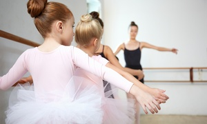 New School of Dance Arts: Five or Ten Summer Dance Camp Classes for One or Two Children at New School of Dance Arts (Up to 65% Off)