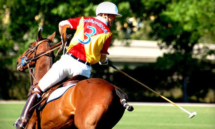 Houston Polo Club - Houston Polo Club: Polo Match in General-Admission Seating for Two or Four at Houston Polo Club (Up to 56% Off)