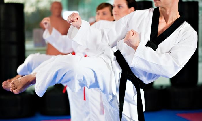 Kioto Brazilian Jiu Jitsu - Sayville: 10 or 20 Fitness Kickboxing Classes at Kioto Brazilian Jiu Jitsu (Up to 75% Off)