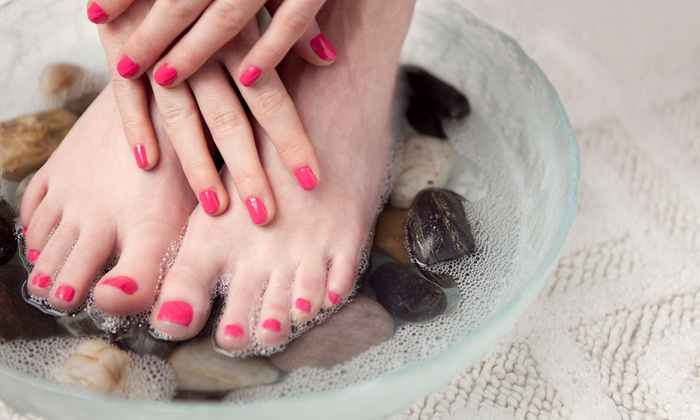 The Ridgefield Salon & Spa - Ridgefield: One or Two Express Mani-Pedis at The Ridgefield Salon & Spa (Up to 57% Off)