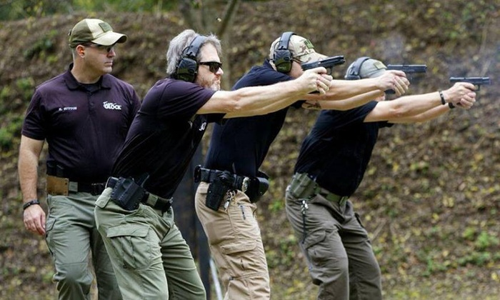 Shoot & Move, LLC - Shoot and Move, LLC: Concealed-Weapon or Rifle Class at Shoot & Move (Up to 43% Off). Three Options Available.