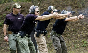 Shoot & Move: Concealed Weapons Permit Course for One or Two (Up to 50% Off)