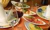 TABERNA TAFEÑA - Taberna Tafeña: Menú de tapas para dos o cuatro personas con copa de cava de bienvenida y botella de vino desde 16,90 €