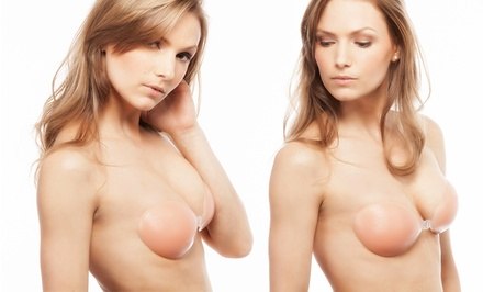 FreshLook Strapless Backless Silicone Adhesive Bra