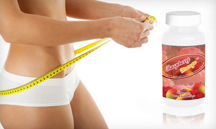 Raspberry Mango Weight-Loss Supplements: $34 for a 90-Day Supply of Raspberry Ketone and African Mango Weight-Loss Supplements ($89.85 List Price). Shipping Included.