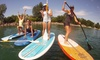 SUPGirlz - SUPGirlz: Introductory Stand Up Paddleboarding Class for One or Two at SUPGirlz (Up to 56% Off)