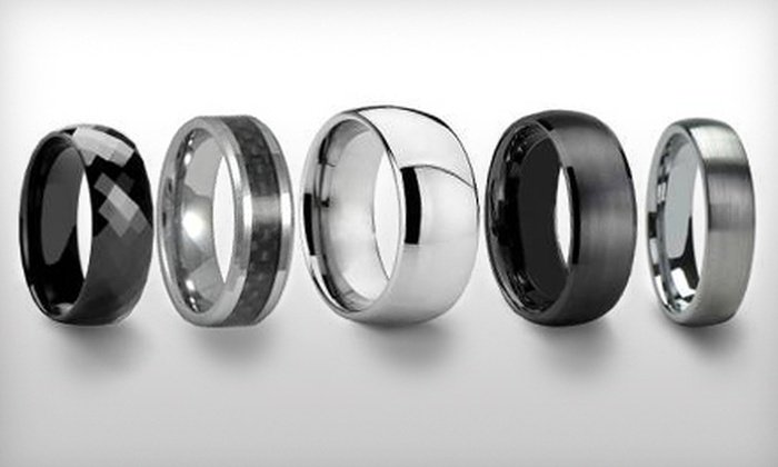 Silver Street Jewellers - Nutana: $20 for a Tungsten-Carbide Ring at Silver Street Jewellers (Up to $200 Value)