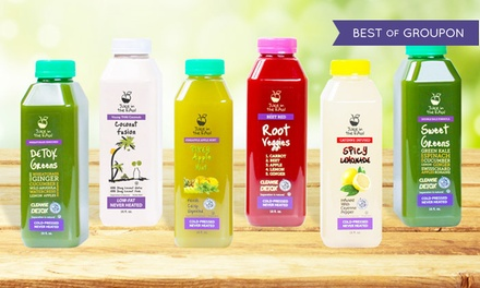 Juice from the Raw—Up to 54% Off Three-Day Juice Cleanses