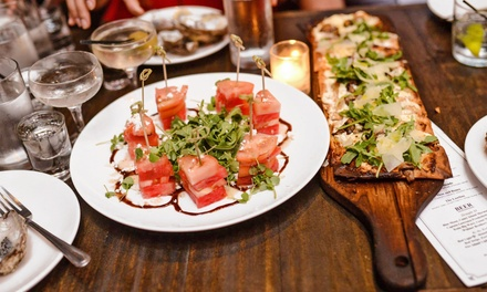Drinks and Appetizers or Chef Seth Levine's Dinner Experience at Hotel Chantelle (Up to 50% Off)