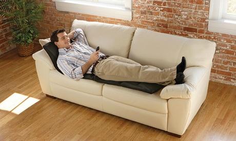 Colchoneta de masaje con 8 vibromotores y calor lumbar ECO-DE 920