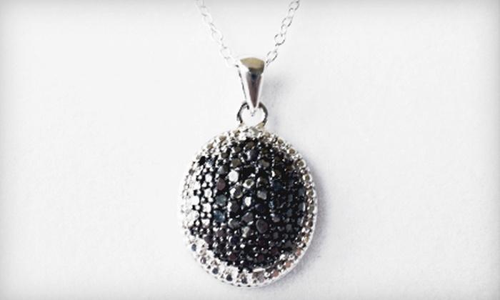 Diamond Necklace Circle Pendant: $39 for a 0.25-Carat Diamond Necklace Circle Pendant ($200 List Price). Free Shipping.