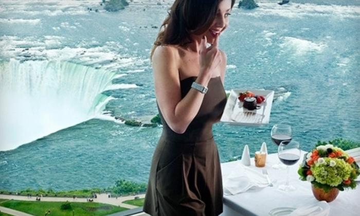 The Pinnacle Restaurant - Niagara Falls: $49 for Upscale Dinner for Two at Pinnacle Restaurant in Niagara Falls (Up to $116 Value)