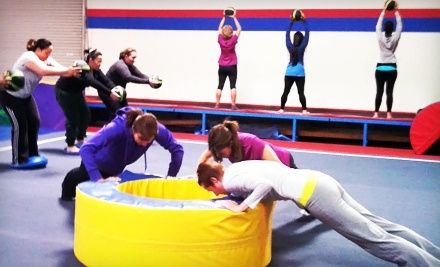 Four or Eight Weeks of Boot-Camp Classes at My Fit Core (80% Off)