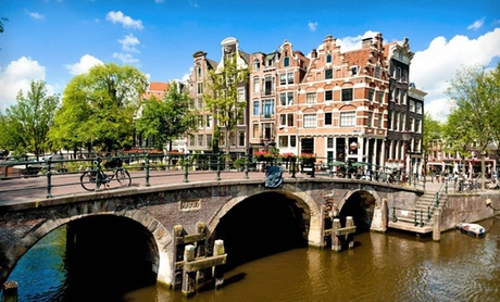 Downtown Amsterdam Vacation with Airfare