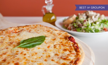 LargePizza and Salad or $7.75 for $15 Worth of Pizzeria Eats at Pacific Coast Pizza