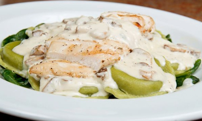 Avanti Grill - Medina: Pizza, Steak, and Seafood at Avanti Grill (50% Off). Two Options Available.