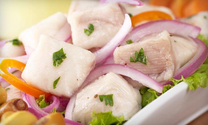 Goyo El Pollo - Miami Beach: Peruvian Food for Two or Four at Goyo El Pollo in Miami Beach (Half Off)