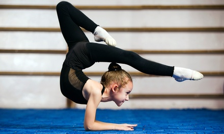 One or Three Months of Children's Gymnastics Classes at Waxahachie Gymnastics Center (Up to 65% Off)
