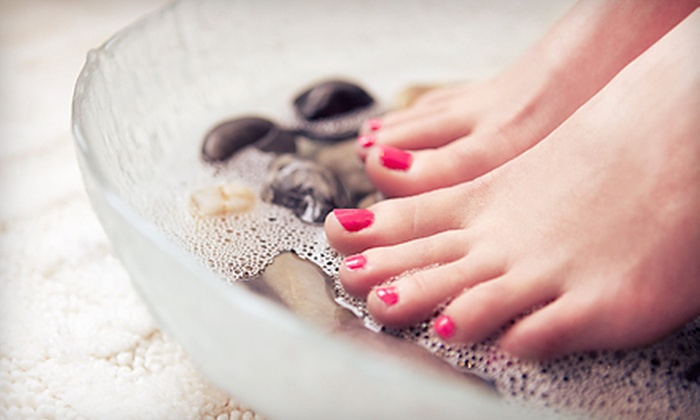 Trinity Wellness Center - South Columbus: One or Two Detoxifying Pedicure Packages with Foot Baths and Foot Massages at Trinity Wellness Center (Up to 68% Off)