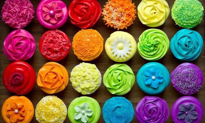 America's Biggest Cupcake Decorating Event - Downtown: Cupcake-Decorating Classes at America's Biggest Cupcake Decorating Event (50% Off). Four Options Available.