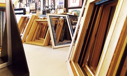 Custom Framing at Frames USA & Art Gallery (Up to 60% Off)