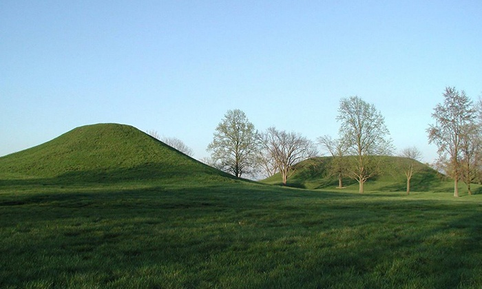 Cahokia Mounds Museum Society - Collinsville: Self-Guided Audio-Visual Tour for Two or Four with Souvenir Books from Cahokia Mounds Museum Society (52% Off)