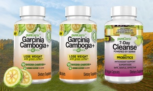 PureGenix Garcinia Cambogia+ and 7-Day Cleanse Supplements