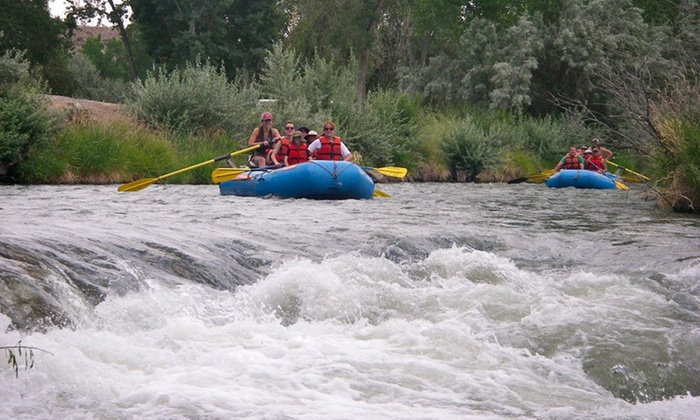 Half-Day Rafting or Fly-Fishing Trip from Toads Guide Shop (Up to 48% Off). Five Options Available.