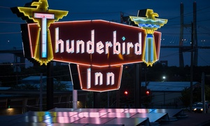 Retro 1960s Hotel in Savannah at Thunderbird Inn, plus 9.0% Cash Back from Ebates.