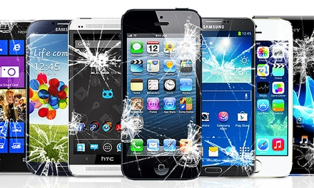 iPhone, iPad, or Samsung Repair at The Mobile Spa (Up to 51% Off). Six Options Available.