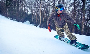 Pico Mountain: Lift Ticket with Optional Lesson and Equipment Rental at Pico Mountain (Up to 49% Off)