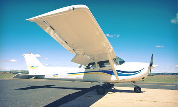 Danny Waizman Flight School And Aircraft Rental - East Farmingdale: Flight Lessons for One or Two at Danny Waizman Flight School and Aircraft Rental (Up to 61% Off)