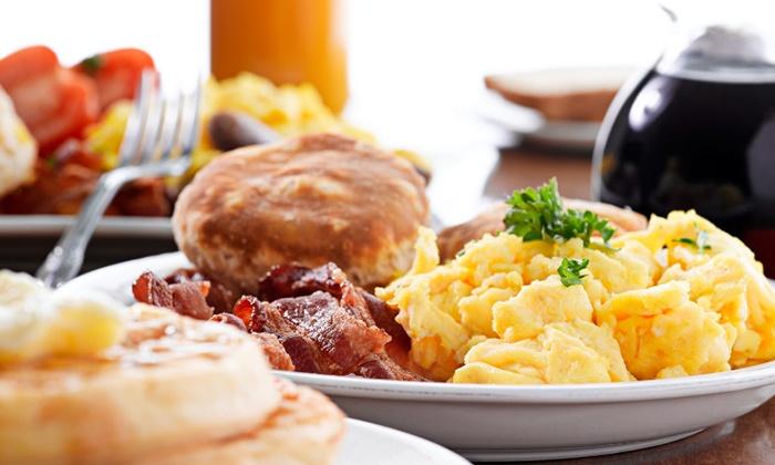 The Wheelhouse Grille - Carlyle: Breakfast Buffet or American Food at The Wheelhouse Grille (Up to 50% Off)