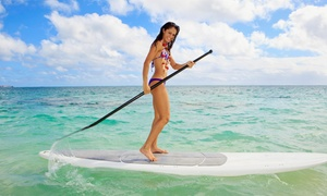 Beach Town Tours: Two-Hour Standup-Paddleboard Rental for One or Two at Beach Town Tours (Up to 60% Off)