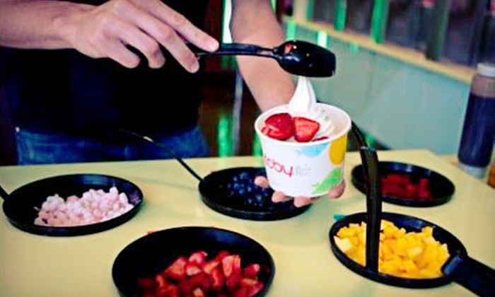 TCBY - Multiple Locations: Frozen Yogurt at TCBY (Half Off). Two Options Available.