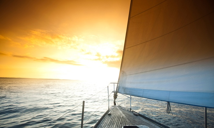 Sailboat Shop - Scorpion Bay Marina: $167 for a Sunset Cruise on Lake Pleasant for Four from Sailboat Shop ($295 Value)
