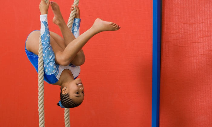 Olympic Dreams - Youngstown: One Month of Kids' Gymnastics Classes at Olympic Dreams (Up to 50% Off). Two Options Available.
