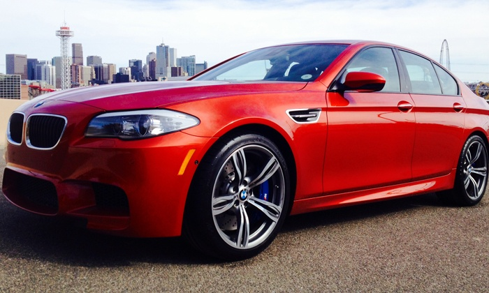 Mile High Drives Denver - Mile High Drives Phoenix: Half-Day Drive in a BMW M5 Super Car or Corvette Stingray at Mile High Drives (Up to 51% Off)