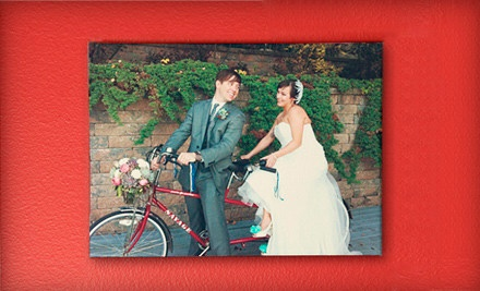 Photo Canvas Prints from Stretch and Staple (Up to 55% Off). Three Options Available.