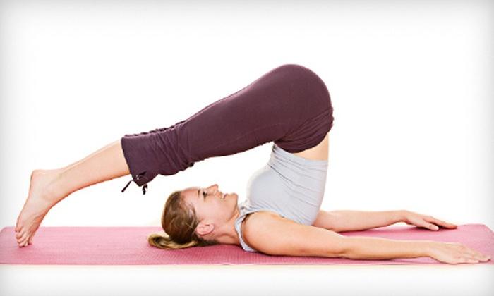 Four Seasons Yoga - Miramar: One Month of Unlimited Classes or 10 Classes at Four Seasons Yoga (Up to 74% Off)
