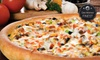 Godfather's Pizza Iowa - Multiple Locations: $15 for $30 Worth of Pizza and Drinks at Godfather's Pizza