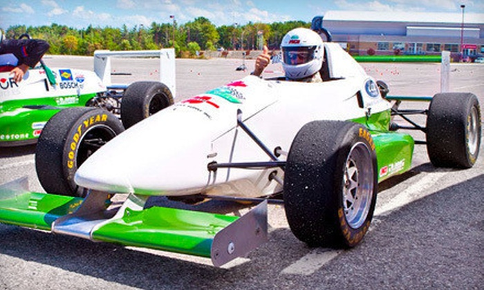 Wings & Slicks - Lone Star Park: Half-Day Stunt-Driving with Optional Passenger or Formula-Car-Driving Experience from Wings & Slicks (Up to 60% Off)