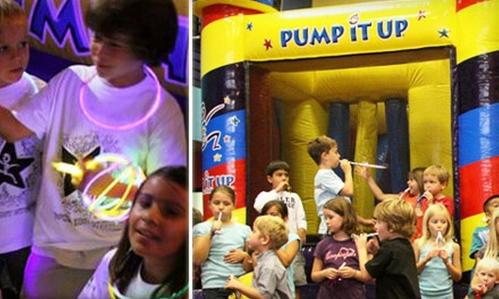 Pump It Up - Fitchburg: Jump N Jam for Two or Four on December 13 or January 10 at Pump It Up (Up to 54% Off)