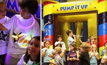 Jump N Jam for Two or Four on December 18 or January 10 at Pump It Up (Up to 54% Off)