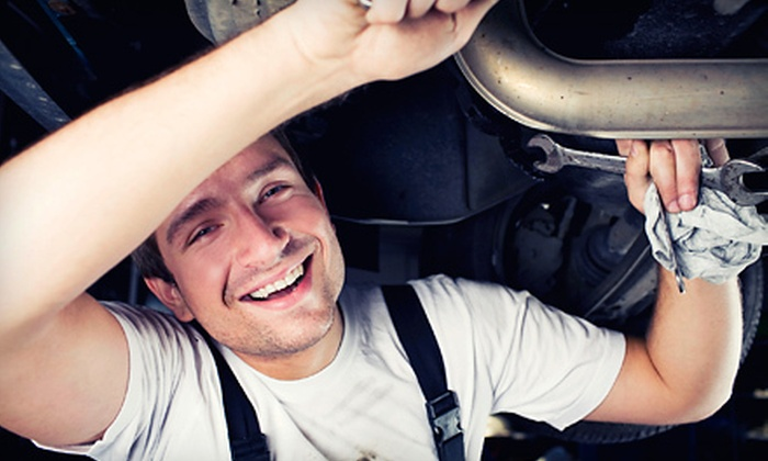 Meineke Car Care Center - Lewisville: $35 for a Four-Wheel Alignment at Meineke Car Care Center ($69.95 Value)