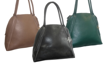 Adriene Vittadini Faux Leather Laptop Tote. Multiple Colors Available.