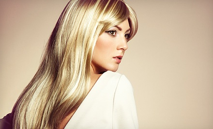 Haircut, Conditioning, and Style with Optional Highlights or Color at DC's Hair Designs (Up to 58% Off)