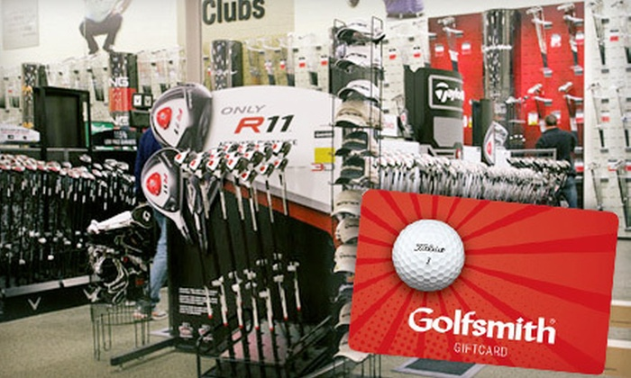 Golfsmith - Multiple Locations: $25 for $50 Gift Card from Golfsmith
